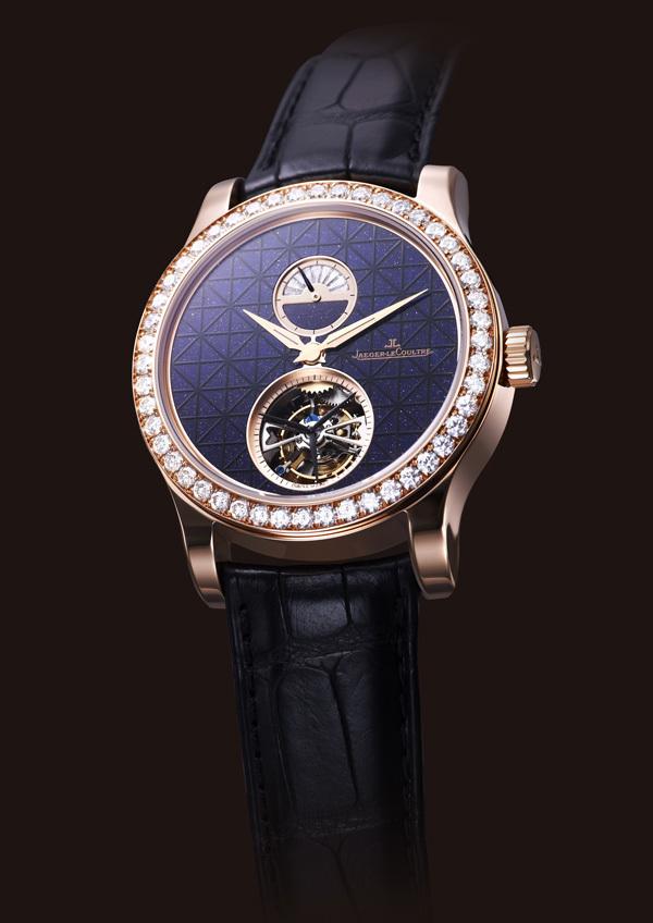 La montre Jaeger Lecoultre Master Tourbillon Aventurine