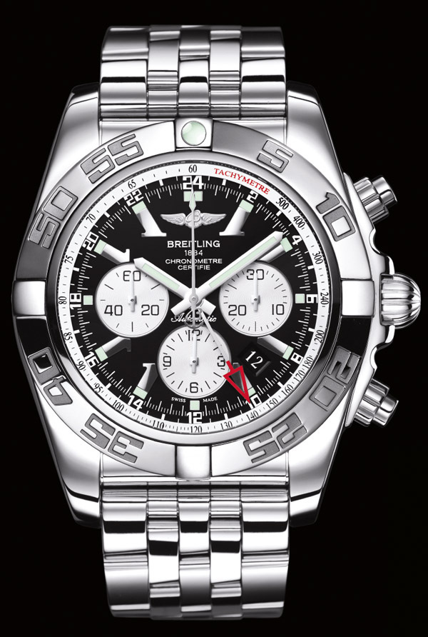 LA MONTRE BREITLING CHRONOMAT GMT CALIBER 04