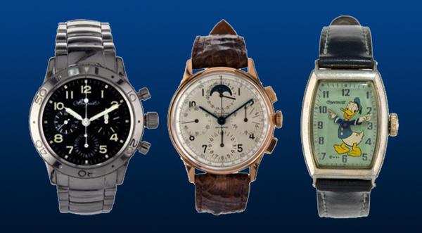 Artcurial 6 avril 2011 - Vente importante de montres de collection Rolex, Jaeger-LeCoultre, Omega, Moser, Longines, Breguet, L. Leroy et Cie...