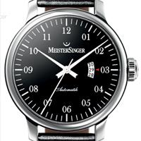 Prix du neuf et tarifs des montres Meistersinger Granmatik 52 mm Cadran noir