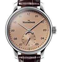 Prix du neuf et tarifs des montres Meistersinger Karelia cadran rose