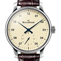 Prix du neuf et tarifs des montres Meistersinger Karelia cadran crème