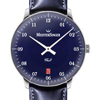 Prix du neuf et tarifs des montres Meistersinger Neo 2Z cadran bleu