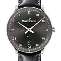 Prix du neuf et tarifs des montres Meistersinger Neo 2Z cadran noir