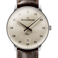 Prix du neuf et tarifs des montres Meistersinger Neo 2Z cadran blanc