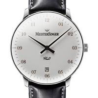 Prix du neuf et tarifs des montres Meistersinger Neo 2Z cadran gris