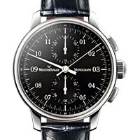 Prix du neuf et tarifs des montres Meistersinger Monograph cadran noir