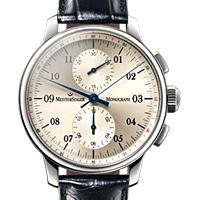 Prix du neuf et tarifs des montres Meistersinger Monograph cadran brun