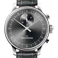 Prix du neuf et tarifs des montres Meistersinger Singular cadran noir