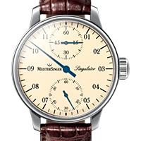 Prix du neuf et tarifs des montres Meistersinger Singulator cadran rose