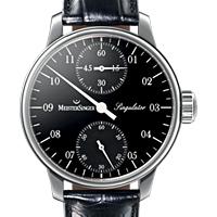 Prix du neuf et tarifs des montres Meistersinger Singulator cadran noir