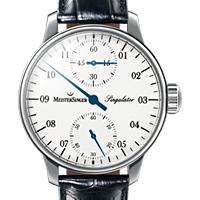 Prix du neuf et tarifs des montres Meistersinger Singulator cadran blanc