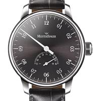 prix du neuf des montres Meistersinger Unomatik cadran noir