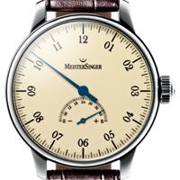 prix du neuf et tarifs des montres Meistersinger Unomatik cadran crème