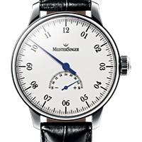 Prix du neuf et tarifs des montres Meistersinger Unomatik cadran blanc