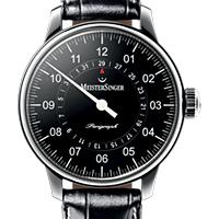 Prix du neuf et tarifs des montres Meistersinger Perigraph cadran noir
