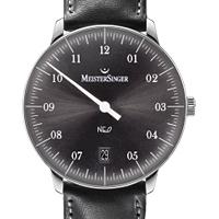 Prix du neuf et tarifs des montres Meistersinger Neo 1Z cadran noir