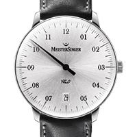 Prix du neuf et tarifs des montres Meistersinger Neo 1Z cadran blanc