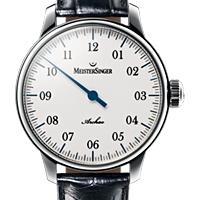 Prix du neuf et tarifs des montres Meistersinger Archao cadran blanc