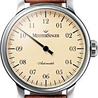 Prix du neuf et tarifs des montres Meistersinger Granmatik cadran rose