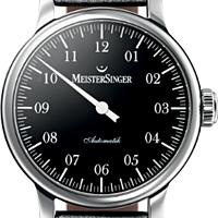 Prix du neuf et tarifs des montres Meistersinger Granmatik cadran noir