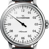 Prix du neuf et tarifs des montres Meistersinger Granmatik cadran blanc
