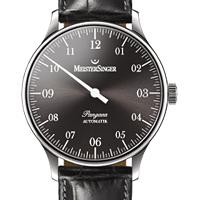 Prix du neuf et tarifs des montres Meistersinger Pangea A. cadran noir