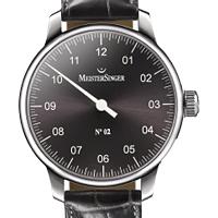 Prix du neuf et tarifs des montres Meistersinger n°02 cadran noir