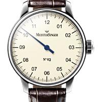 Prix du neuf et tarifs des montres Meistersinger n°02 cadran blanc