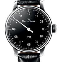 Prix du neuf et tarifs des montres Meistersinger n°01 cadran noir