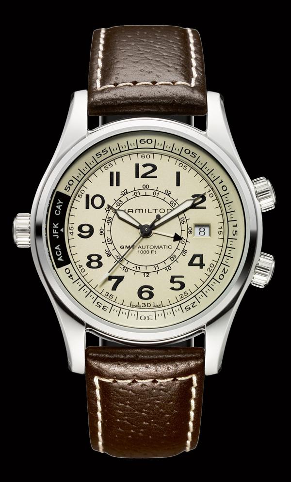 Montre Hamilton Khaki SkyMaster UTC - Temps sidéral et charme moderne