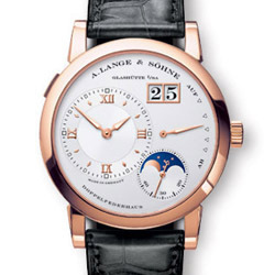 Prix du neuf A. Lange Söhne Lange 1 Moonphase Or Rose