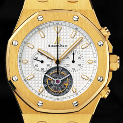 Prix du neuf Audemars Piguet Royal Oak Tourbillon Or Jaune