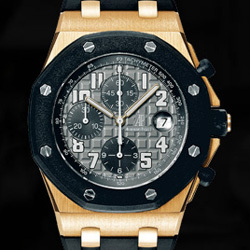 Prix du neuf Audemars Piguet Royal Oak Offshore Chronographe Or Rose