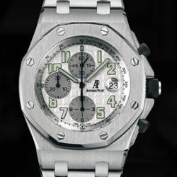 Prix du neuf Audemars Piguet Royal Oak Offshore Chronographe Date Titane