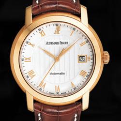 Prix du neuf Audemars Piguet Jules Audemars Date Or Rose