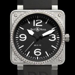 Prix du neuf Bell & Ross BR01-92 Top Diamond Black