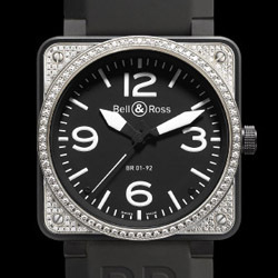 Prix du neuf Bell & Ross BR01-92 Top Diamond Carbon
