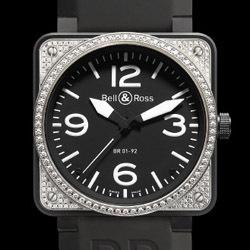 Prix du neuf Bell & Ross BR01-92 Top Diamond Carbon