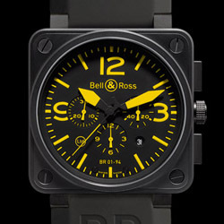 Prix du neuf Bell & Ross BR01-94 Yellow
