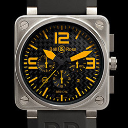 Prix du neuf Bell & Ross BR01-94 Titanium Orange