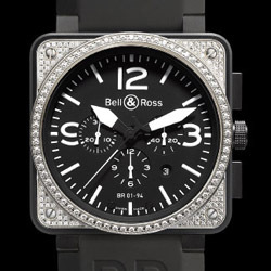 Prix du neuf Bell & Ross BR01-94 Top Diamond and Carbon