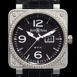 Prix du neuf Bell & Ross BR01-96 Top Diamond Black Dial