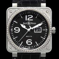 Prix du neuf Bell & Ross BR01-96 Top Diamond Black Dial
