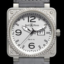 Prix du neuf Bell & Ross BR01-96 Top Diamond White Dial