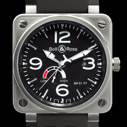 Prix du neuf Bell & Ross BR01-97 Power Reserve Black Dial