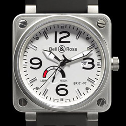 Prix du neuf Bell & Ross BR01-97 Power Reserve White Dial