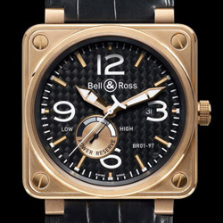 Prix du neuf Bell & Ross BR01-97 Power Reserve Gold