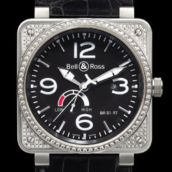 Prix du neuf Bell & Ross BR01-97 Top Diamond Black Dial