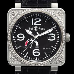 Prix du neuf Bell & Ross BR01-97 Top Diamond Black Dial